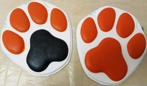 Rubber Full Bottom Stompy K9 Feetpads