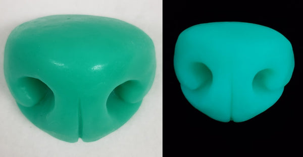 Silicone Glow in the Dark Large Toony K9 Nose