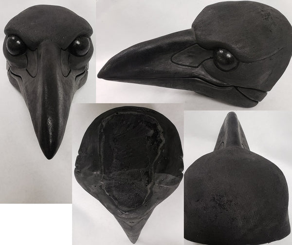 Foam Corvid Head