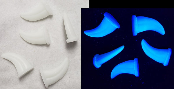 UV Reactive Small Raptor Claws *Sold Per Claw*