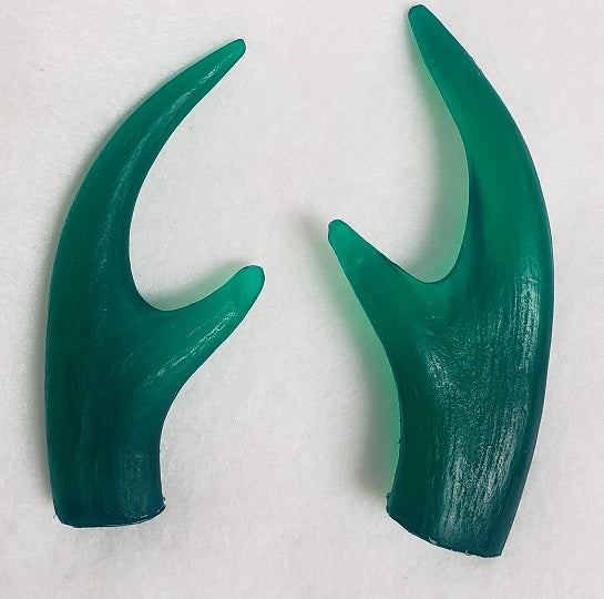 Clear Four Point Antler Tips