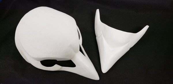 Cut Songbird Resin Mask Blank