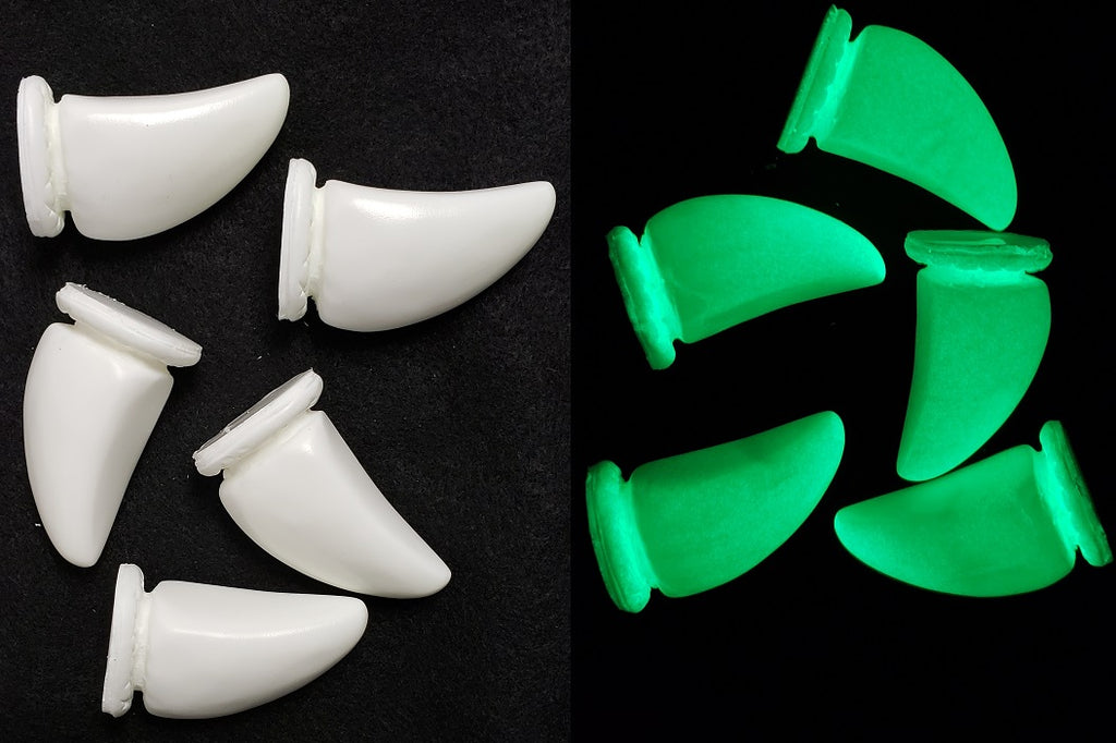 Opaque Glow in the Dark Big Nubz Claws *Sold Per Claw*