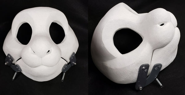 Cut and Hinged Drekkubus Resin Mask Blank