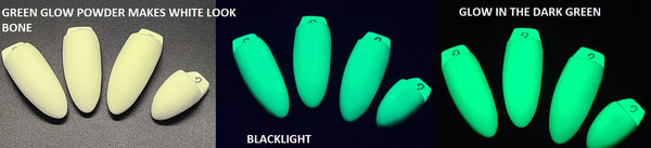 Opaque Glow in the Dark Large Plushie Claws *Sold per Set*