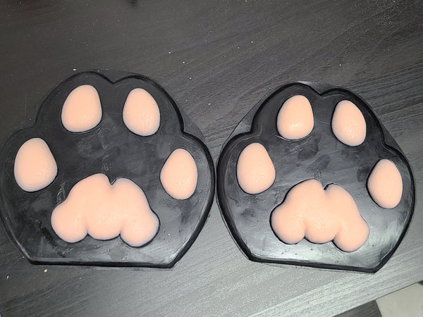 Ready To Ship: Rubber Big Cat Feetpads