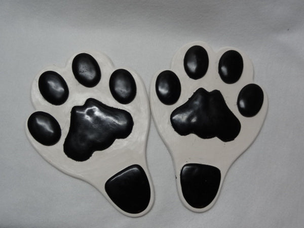 Rubber Full bottom Toony Feline Feetpads