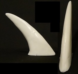 Basic Opaque 2-Inch Plastic Spike  *sold per spike*