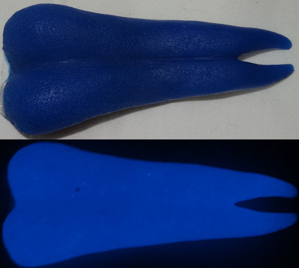 Silicone Glow in the Dark Forked Dragon Tongue