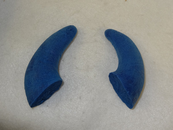 Foam Small Water Buffalo Horns