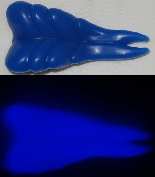 Silicone Glow in the Dark Forked Sergal Tongue