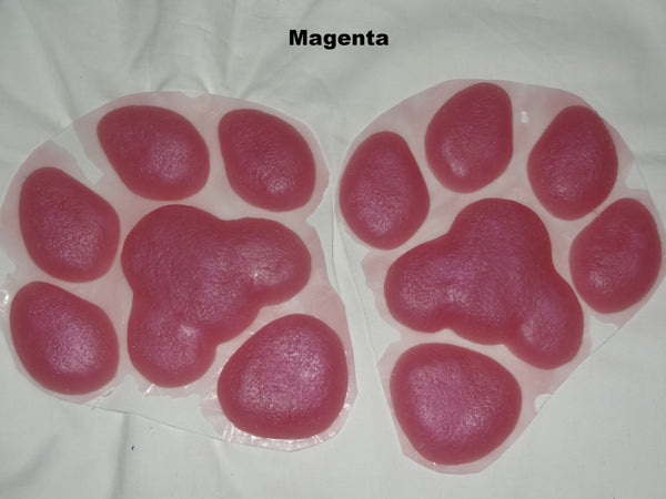 Silicone Shimmer Large K9 Feetpads