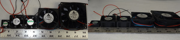 1 Inch Fan with AAA Battery Pack