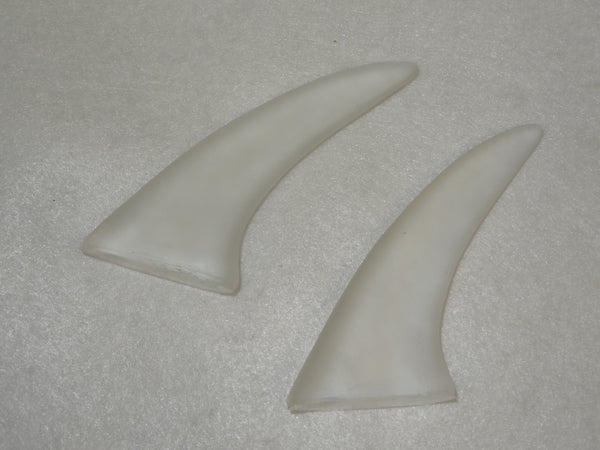 Clear 3-Inch Plastic Spike