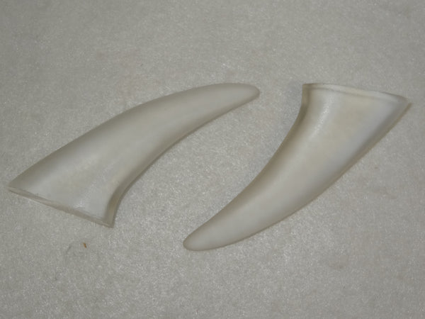 Clear 2.5-Inch Plastic Spike