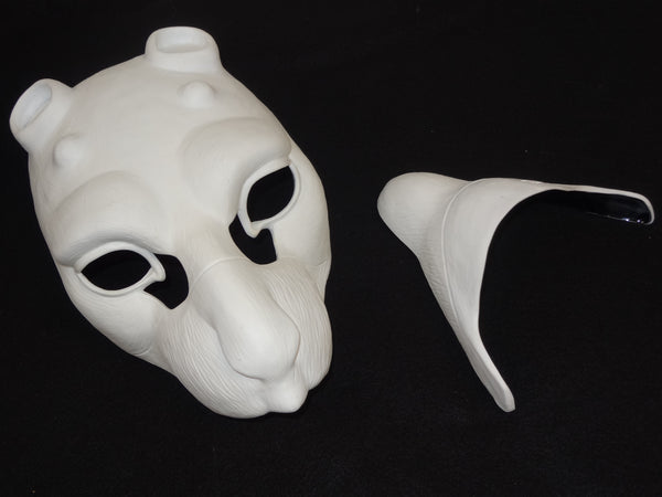 Cut Birdcat Resin Mask Blank