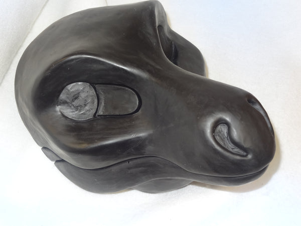 Uncut Round Nose Dragon Resin Mask Blank