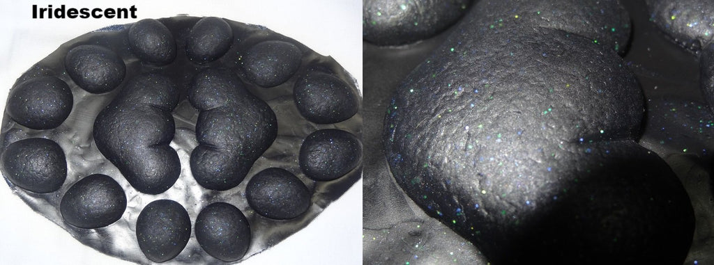 Silicone Glitter Small Anthro K9 no heels Handpads
