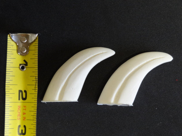 "Opaque 1.75"" Skinny Raptor Claws *Sold per claw*"