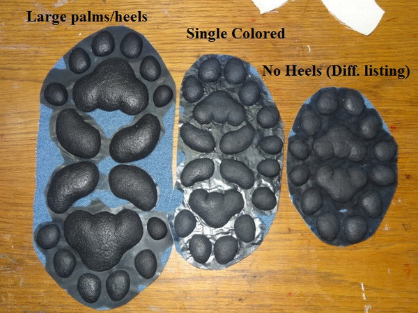 Silicone Small Anthro K9 Handpads