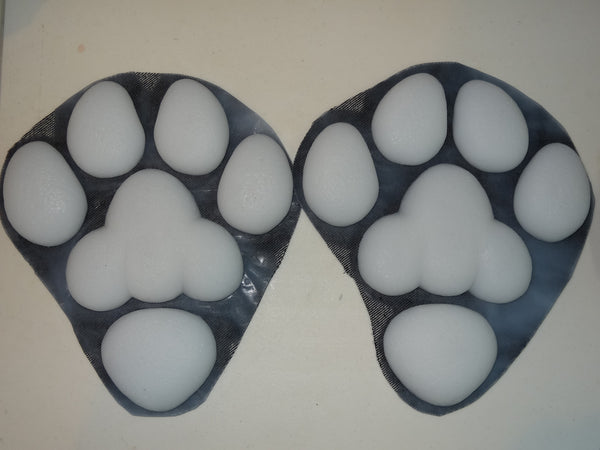 Silicone Thick K9 Feetpads