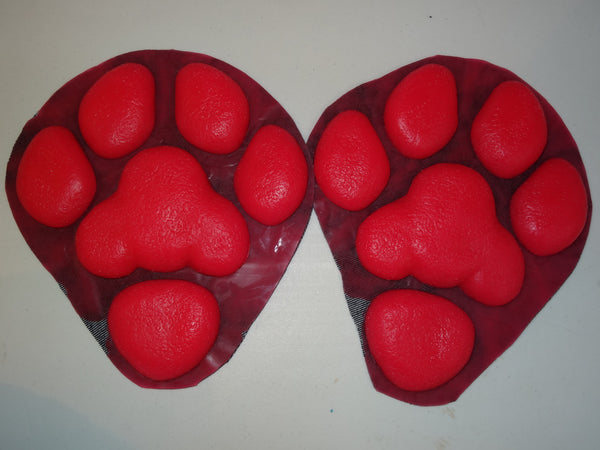 Silicone Large K9 Feetpads