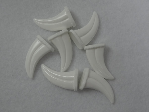 Opaque Mini Raptor Claws *Sold per claw*