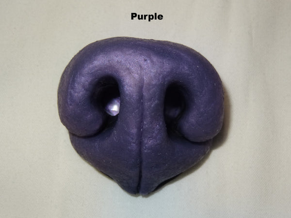 Silicone Shimmer Realistic Small K9 Nose