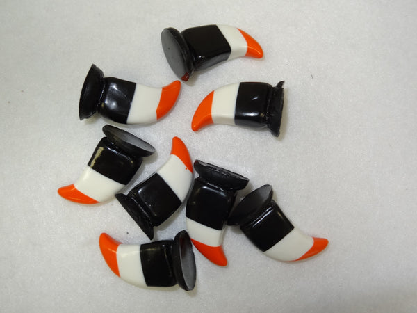 Opaque 3 Layered Lrg Feline Claws *Sold Per Claw*