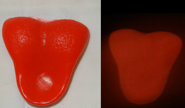 Silicone Glow in the Dark Rat Tongue