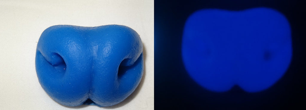 Silicone Glow in the Dark Rat Nose