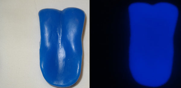 Silicone Glow in the Dark Toony K9 Tongue