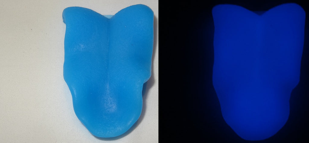 Silicone Glow in the Dark Snarly K9 Tongue