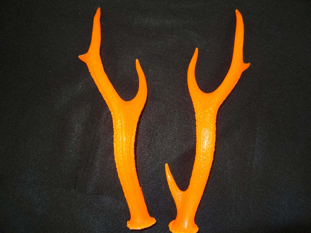 UV Reactive Medium Sika Deer Antlers