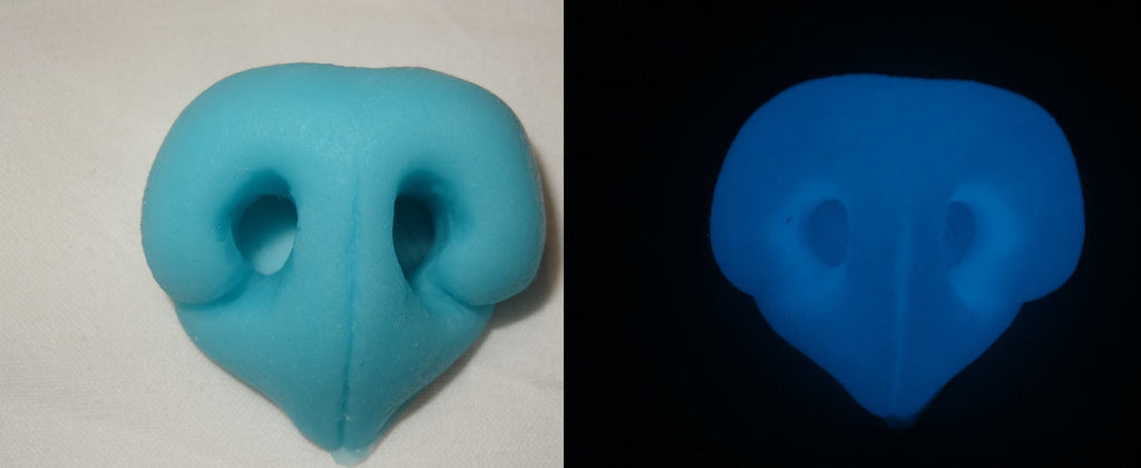 Silicone Glow in the Dark Realistic Fox Nose