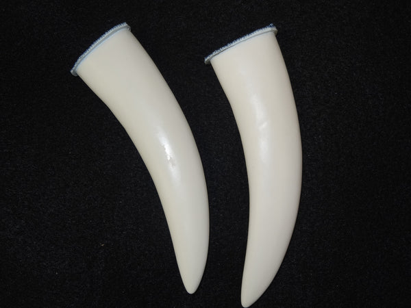 Rubber Toony Saber Teeth *Sold per Tooth*
