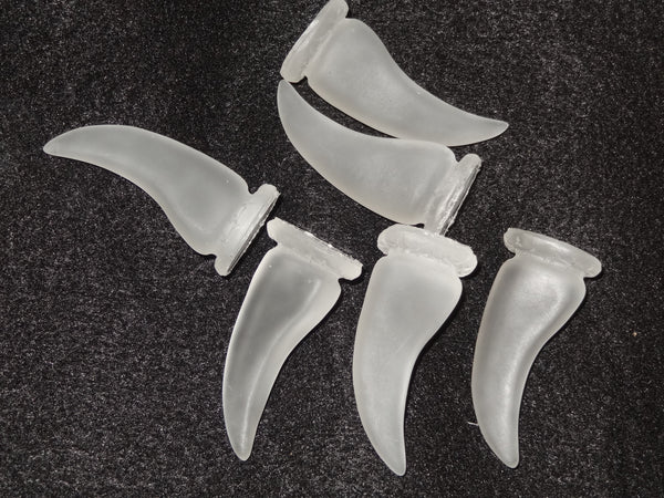Frosted Clear Bear Claws *Sold Per Claw*