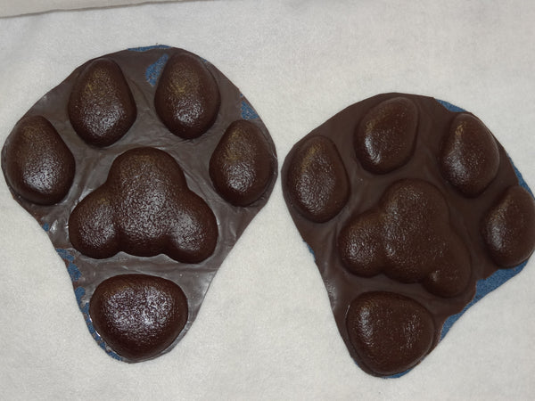 Rubber Large K9 Feetpads