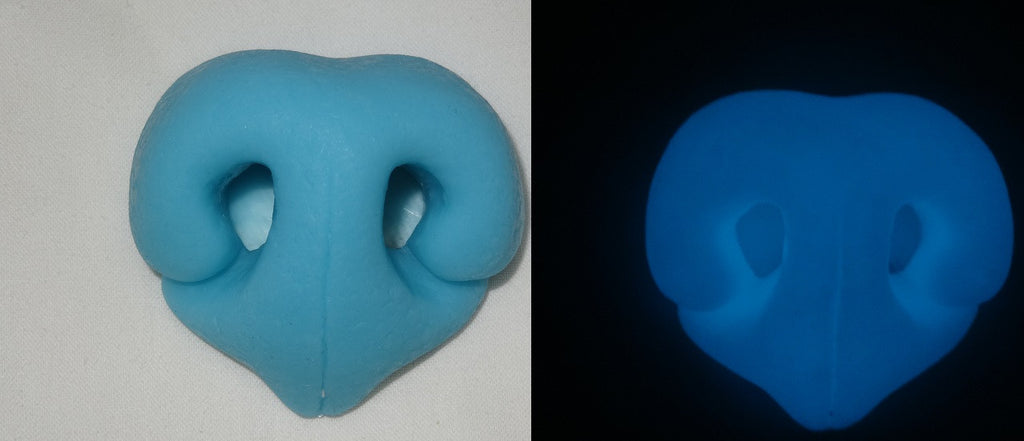 Silicone Glow in the Dark Realistic Large K9 Nose
