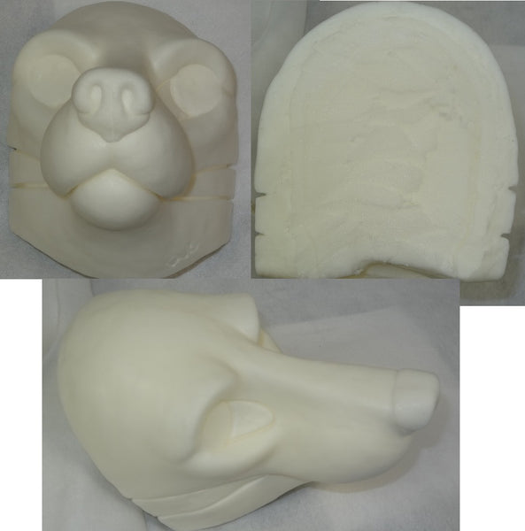 *limited* Foam Small K9 Head