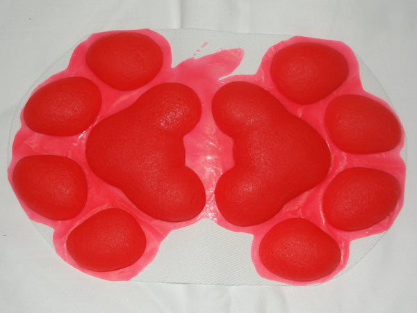 Silicone 4 Fingered Feral K9 Handpads