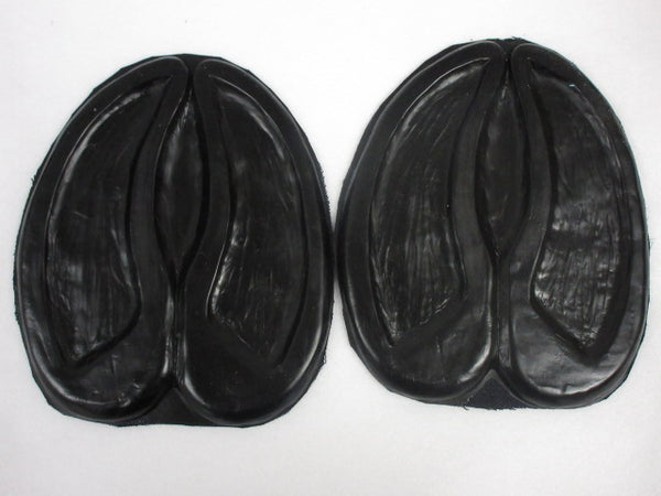 Rubber Hoof Bottoms for Small Cloven Hooves