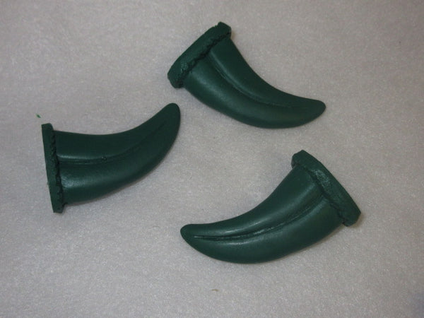 Custom Colored Opaque Small Raptor Claws *Sold per claw*
