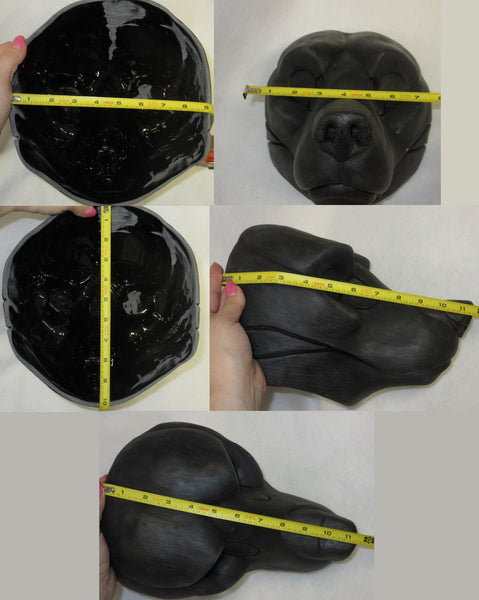 Cut Bear Resin Mask Blank