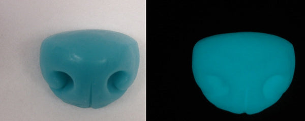 Silicone Glow in the Dark Medium Toony K9 Nose