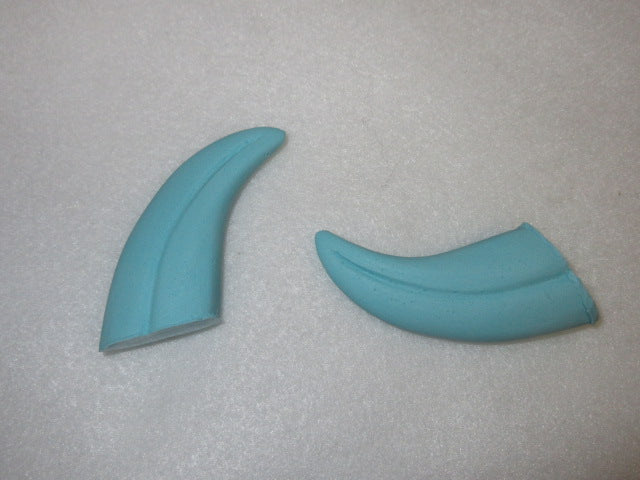"Custom Colored Opaque 1.75"" Skinny Raptor Claws *Sold per claw*"