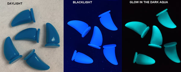 UV Reactive Glow in the Dark Nubz Claws *Sold per claw*