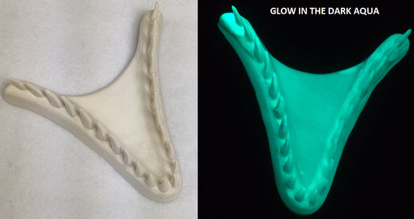 Single Color Glow in the Dark JW Velociraptor Jawset