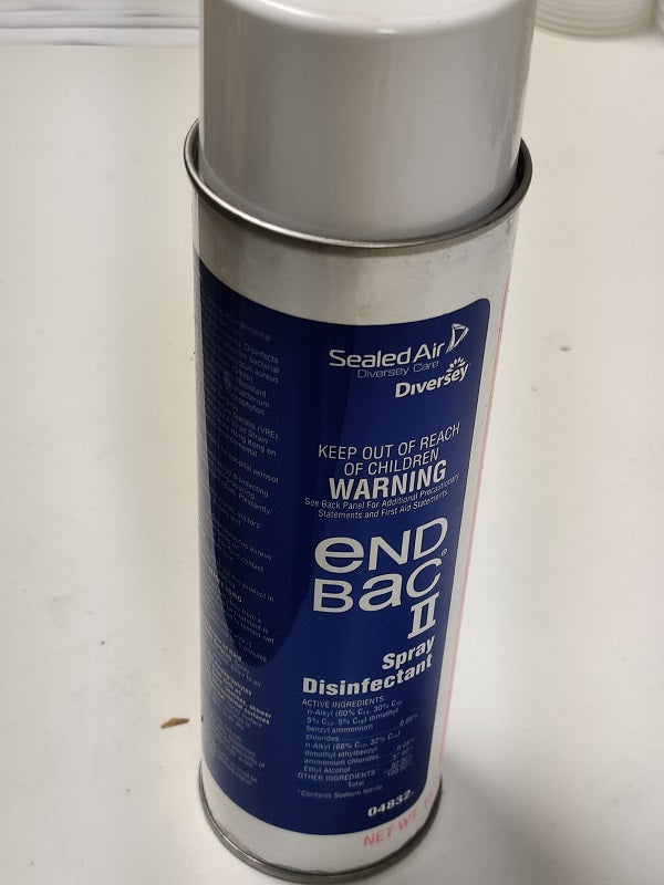 Endbac II Disinfectant Spray