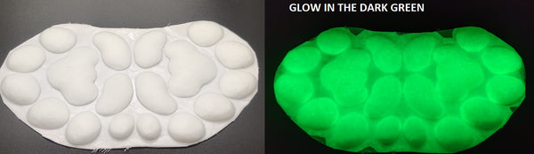Silicone Glow in the Dark Anthro K9 Handpads